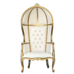 Ivory Throne Chair