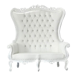 White Double Throne