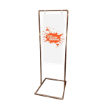 Copper Pipe Sign Stand - Large