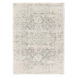 Distressed Grey Medallion Rug 8' x 10'