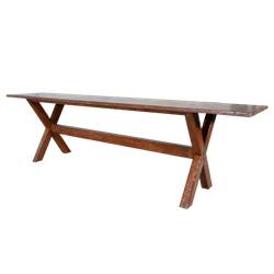 Rustic Bench 6'