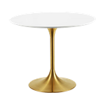 Gold Bistro Table