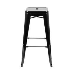 Black Bistro Bar Stool