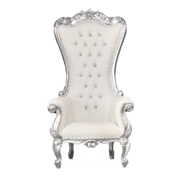 White & Silver Throne