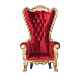 Red & Gold Throne