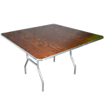 "48"" Square Folding Table"