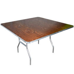 4' Square Folding Table