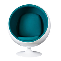 Ball Chair - Turquoise