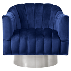Stoneleigh Swivel Chair - Navy