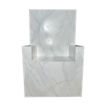 Faux Marble Throne