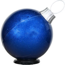 Oversized Ornament - Blue