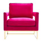 Thompson Arm Chair - Pink
