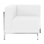 White Mod Chair - Corner