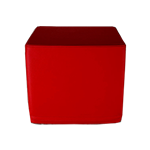 Cube Stool Red