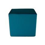 Cube Stool Teal