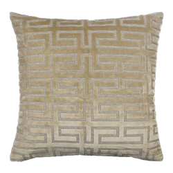 Gold Maze Pillow