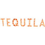 TEQUILA Vintage Marquee
