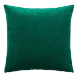 Green Dot Velvet Pillow