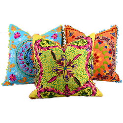 Set of (3) Fiesta Pillows