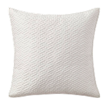 Ivory Astral Quilted Pillow