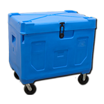 Large Insulated Cooler on Wheels