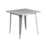 Gunmetal Bistro Dining Table