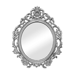 Silver Baroque Mirror