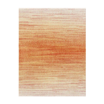 Orange and Blush Ombre Rug 8' x 10'