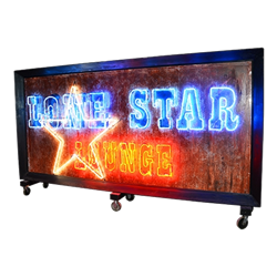 Lone Star Lounge Neon Sign