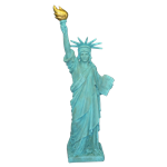 Statue of Liberty - 5' Tall