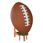 Oversized Football on Tee