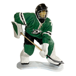Hockey Player - Green
